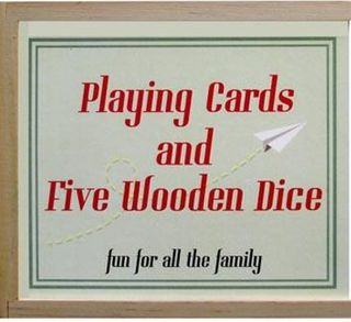 PLAYING CARDS AND DICE VINTAGE