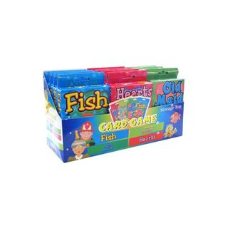 CARD GAMES FISH/HEARTS/OLD MAID 3 ASST