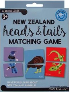 HEADS & TAIL NZ BOX SET 19X15CM