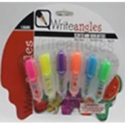 HIGHLIGHTERS MINI SCENTED 6 ASST COLRS