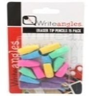 15 PCS PENCIL TIP ERASERS