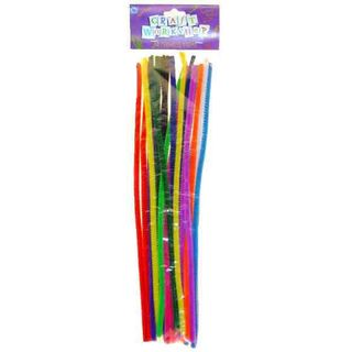 50 PIECE COLOURED PIPE CLEANERS