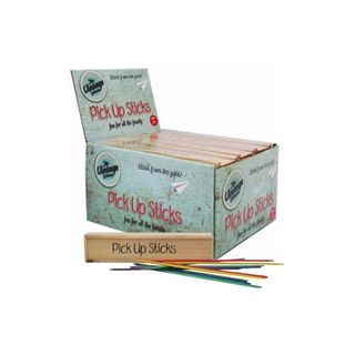 PICKUP STICKS 18CM 41PC BOX VINTAGE