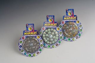 21 PIECE MARBLES 3 ASSORTED
