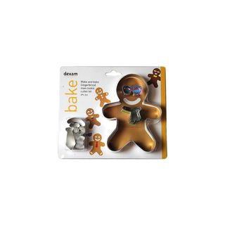 MAKE/BAKE GINGERBREAD MAN COOKIE CUTTER