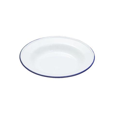 FALCON SOUP PLATE ENAMELWARE 24CM