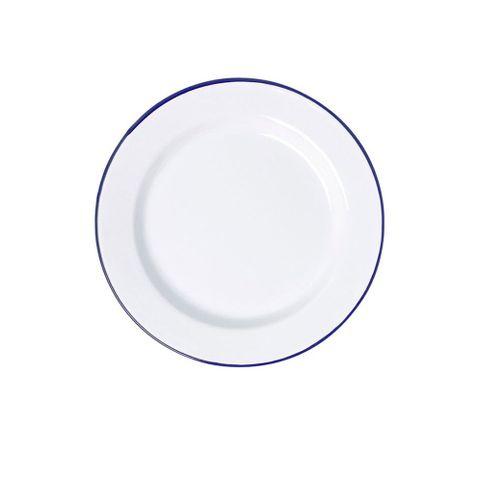 FALCON DINNER PLATE WHITE 24CM