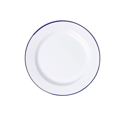 FALCON DINNER PLATE WHITE 24CM