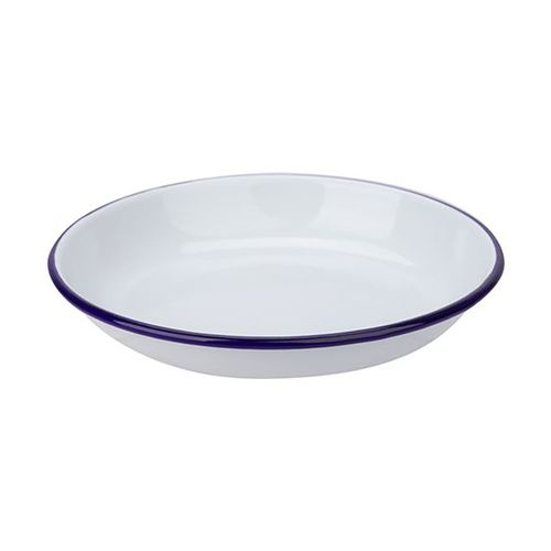 FALCON RICE/PASTA PLATE ENAMELWARE 18CM