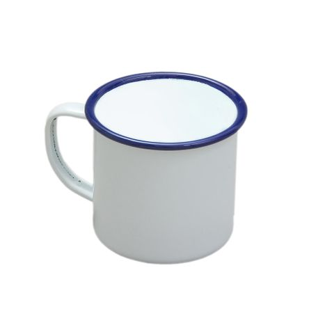 FALCON MUG ENAMELWARE 8CM 284ML WHITE