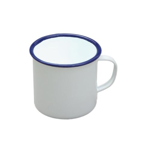 FALCON MUG ENAMELWARE WHITE 9CM 568ML