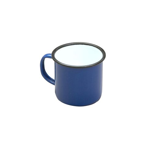 FALCON MUG ENAMELWARE BLUE 8CM 284ML