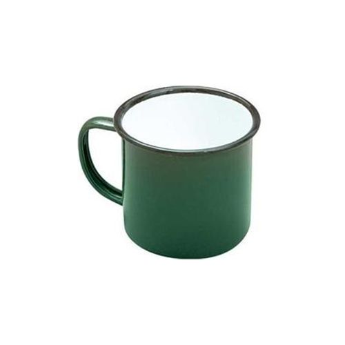 FALCON MUG ENAMELWARE GREEN 8CM 284ML