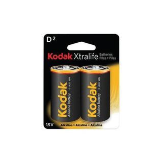 KODAK XTRALIFE BATTERY ALK D 2 PACK CTN12
