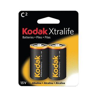 KODAK XTRALIFE BATTERY ALK C 2PK CTN12