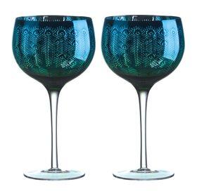 Artland Peacock Gin Glass