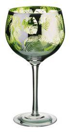 Artland Tropical Leaves Gin Glass