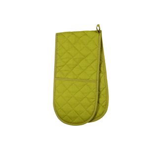 LOVE COLOUR DOUBLE OVEN GLOVE GREENERY