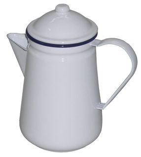 FALCON COFFEE POT WHITE 1.3 LITRE