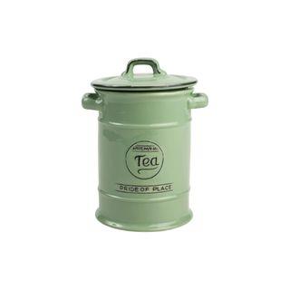 T&G PRIDE OF PLACE GREEN TEA JAR