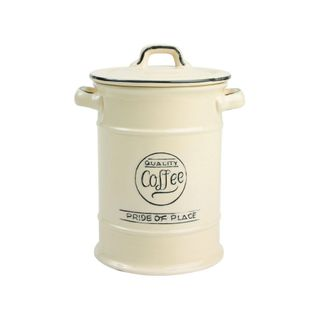 T&G PRIDE OF PLACE CREAM COFFEE JAR