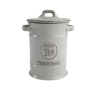 PRIDE OF PLACE GREY TEA JAR
