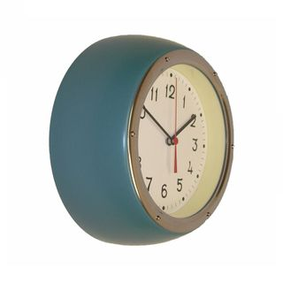 ZITOS JUNIPER GREEN WALL CLOCK
