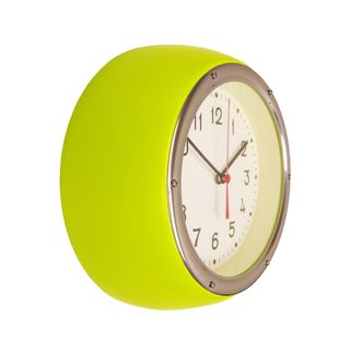 ZITOS LIME WALL CLOCK