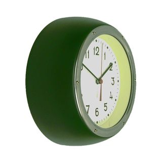 ZITOS FOREST GREEN WALL CLOCK