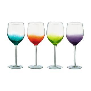 ANTON STUDIO FIZZ WINE GLASSES SET OF 4