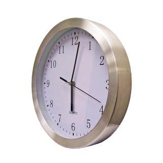ZITOS ALUMINIUM CLOCK 10 INCH