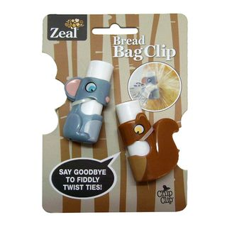 ZEAL BREAD BAG CLIPS CDU 20