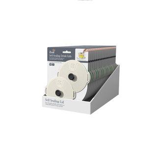 ZEAL CLASSIC NEUTRAL LID set of 2 10cm (18)