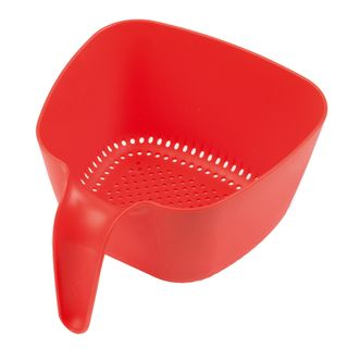 ZEAL COLANDER LARGE RED (6)