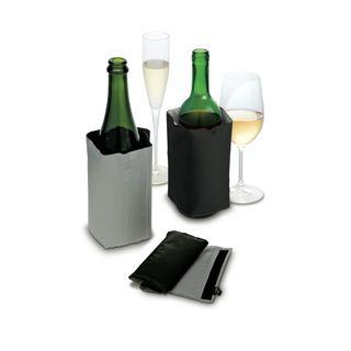 PULLTEX WINE & CHAMPAGNE COOLER (Black & Grey)