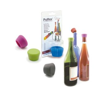 DISPLAY SILICONE WINE STOPPER (12)