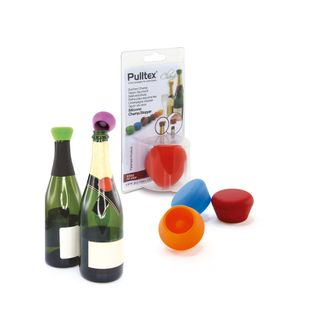PULLTEX DISPLAY SILICONE CHAMPAGNE STOPPER (12)