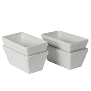 BIA TEXTURE MINI LOAF PANS SET OF FOUR