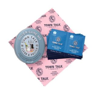 TOWN TALK SILVER CLEANING KIT IN TIN (6)