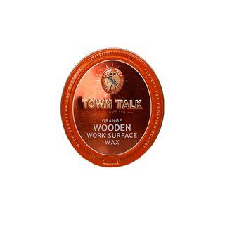 TOWN TALK HARD WAX ORANGE WOOD SURFACE (6)