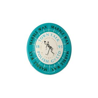 TOWN TALK HARD WAX MARBLE (6) TEAL TIN