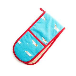 PATCH THE DOG DOUBLE OVEN GLOVE