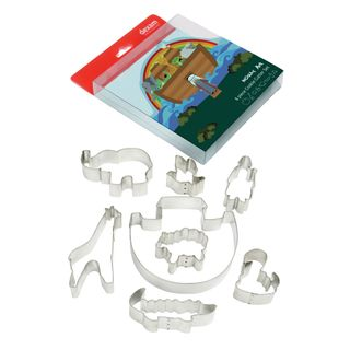 DEXAM NOAHS ARK SET OF 8 COOKIE CUTTERS