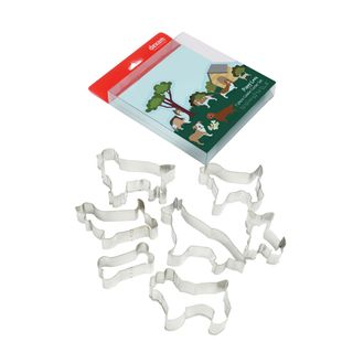DEXAM PUPPY LOVE SET OF 7 COOKIE CUTTERS