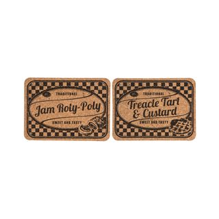 CORK TABLE MATS JAM ROLY POLY