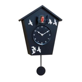 ZITOS CUCKOO CLOCK BIRDS BLACK