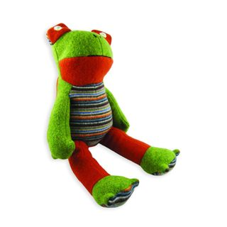 CATE & LEVI STUFFED ANIMAL FROG