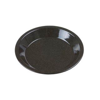 FALCON PIE DISH ROUND BLACK SPECKLE