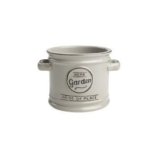 PRIDE OF PLACE PLANT POT - COOL GREY