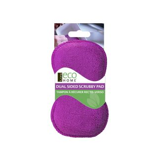 LIVING ECO HOME SCRUBBY PAD 11 X 7 CM (10)